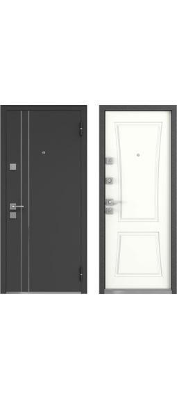 Cтальная дверь Мастино Терра Софт Белый