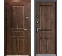 Входная дверь Мастино МОNTЕ Дуб Шале морёный