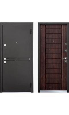 Cтальная дверь Мастино TERRA Дуб мореный (быв. strada)
