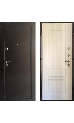 Входная дверь Внутреннего открывания ЗЕЛАР ЕВРО В.О. СИСТЕМА, Сосна белая