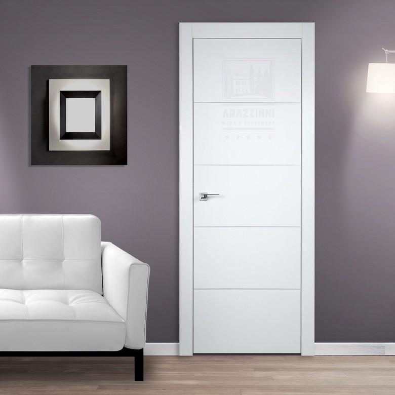 Не будет ли стеклянная межкомнатная дверь помехою?